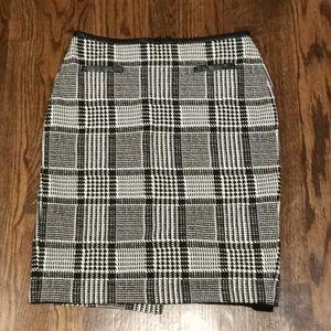 Talbots's Plaid Pencil ✏️ Skirt Sz 2
